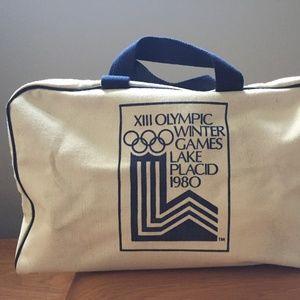 Vintage original 1980 XIII Olympic Games Bag